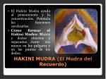 hakini mudra el mudra del recuerdo