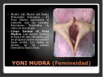 yoni mudra femineidad