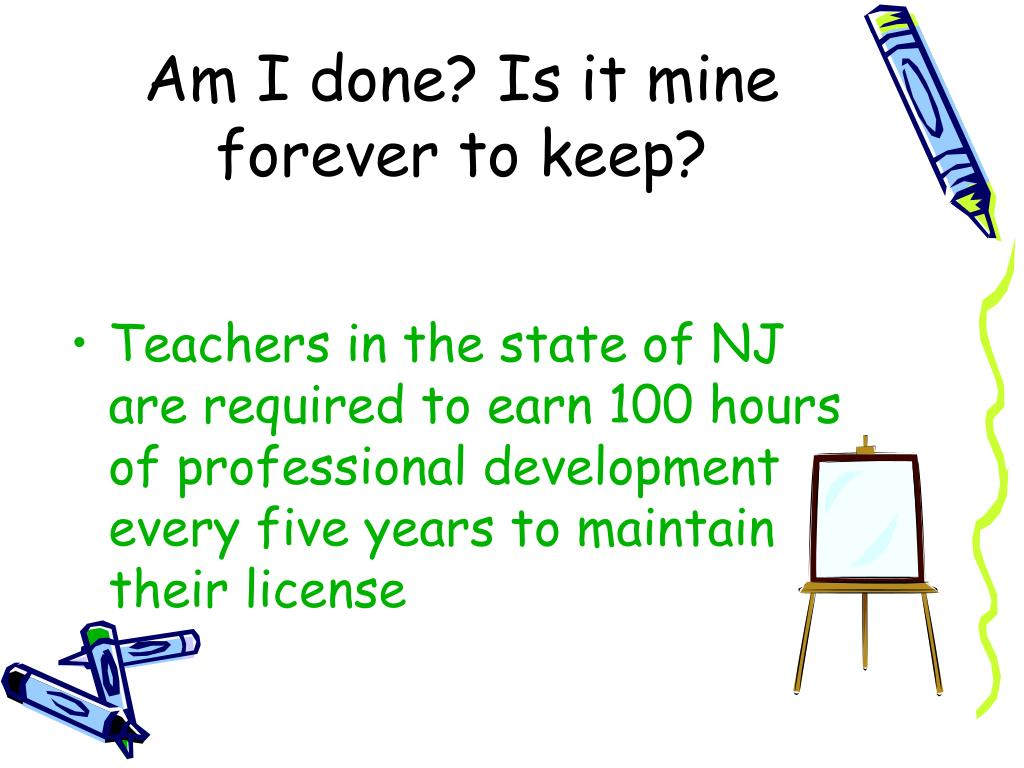 nj teacher certificate program ppt powerpoint presentation teachers state