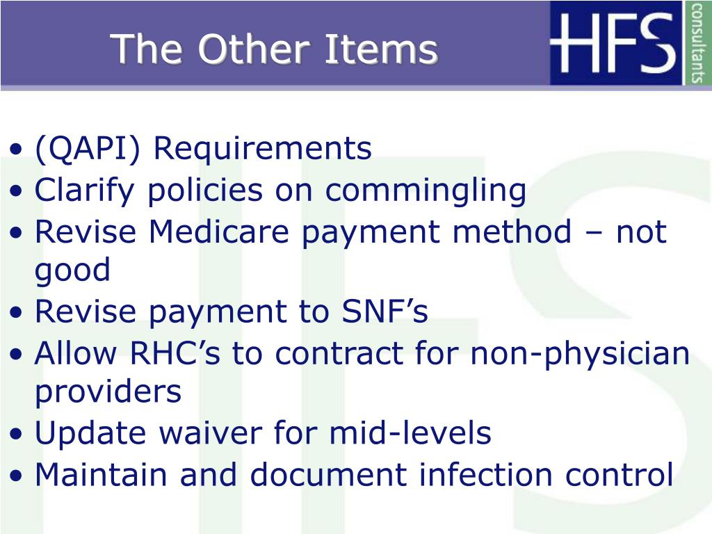 PPT - Presents CMS-RHC Proposed Regulations : Winter 2008