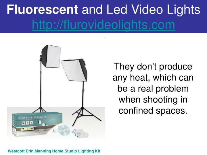 Fluorescent and led video lights http flurovideolights com2