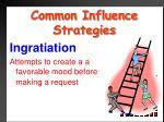 common influence strategies7