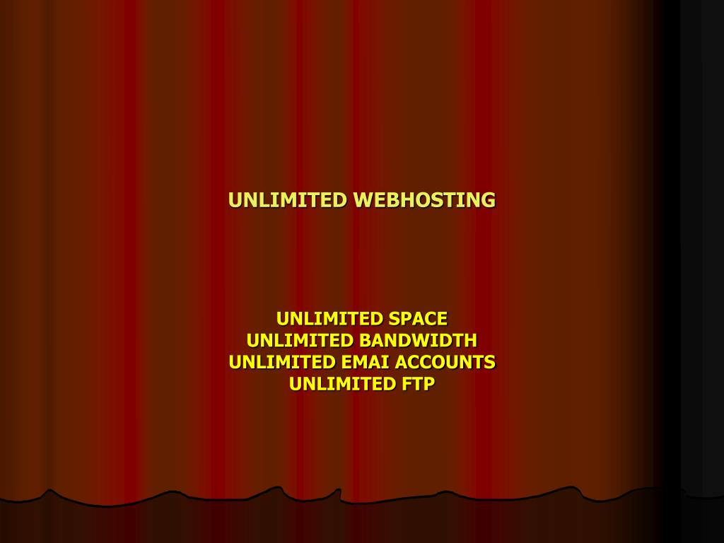 unlimited webhosting l.