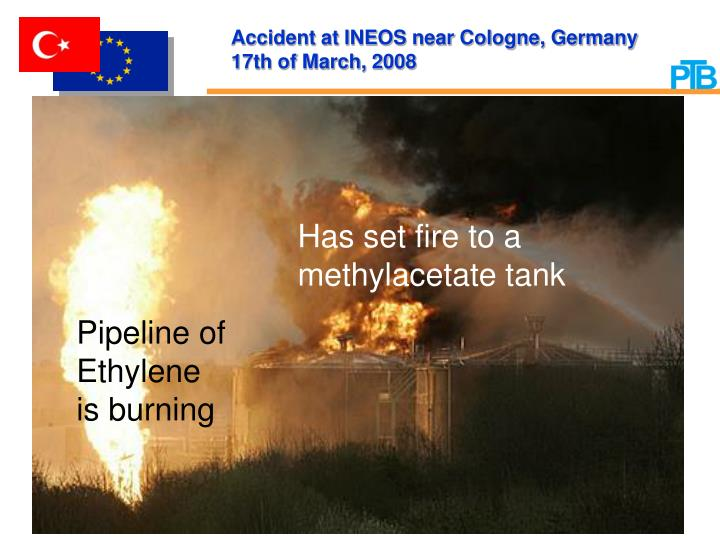 Accident at INEOS near Cologne, Germany