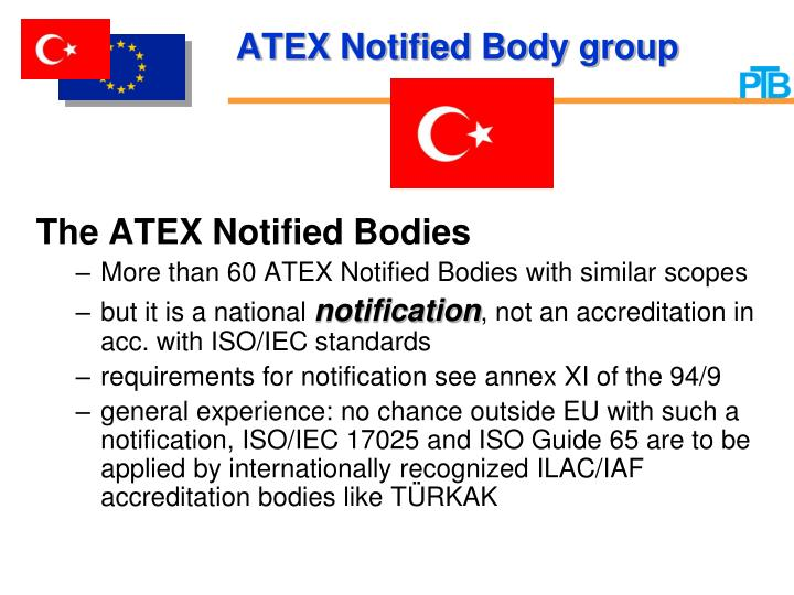ATEX Notified Body group