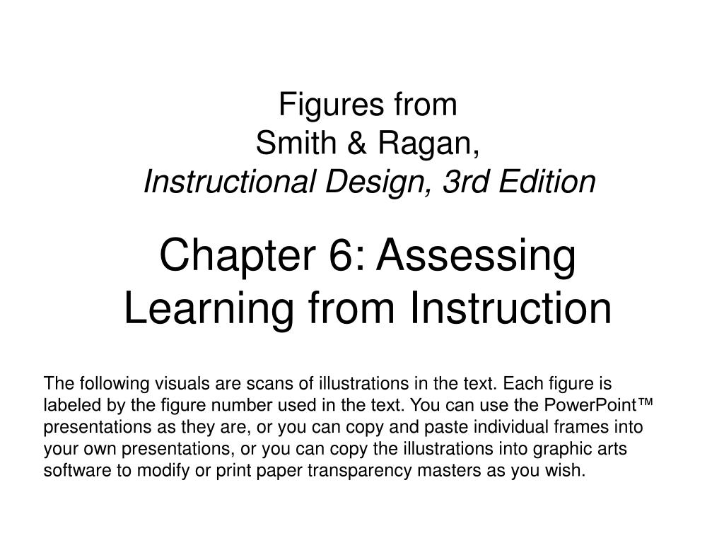 Ppt Figures From Smith Ragan Instructional Design 3rd Edition Powerpoint Presentation Id 1294305