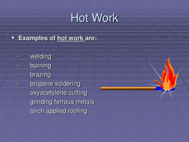 Ppt Penn State University Hot Work Permits Powerpoint