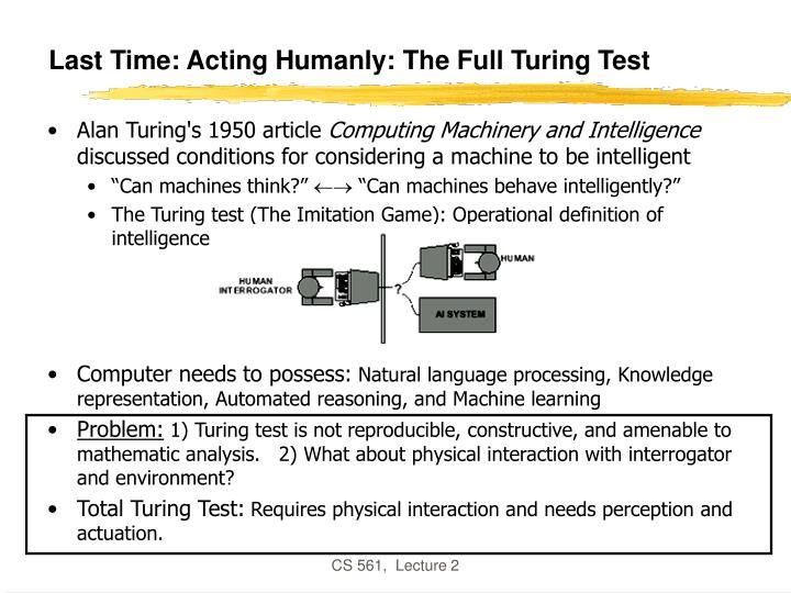 last time acting humanly the full turing test n.