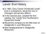 lands end history