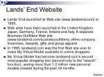 lands end website