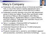 macy s company