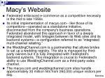 macy s website