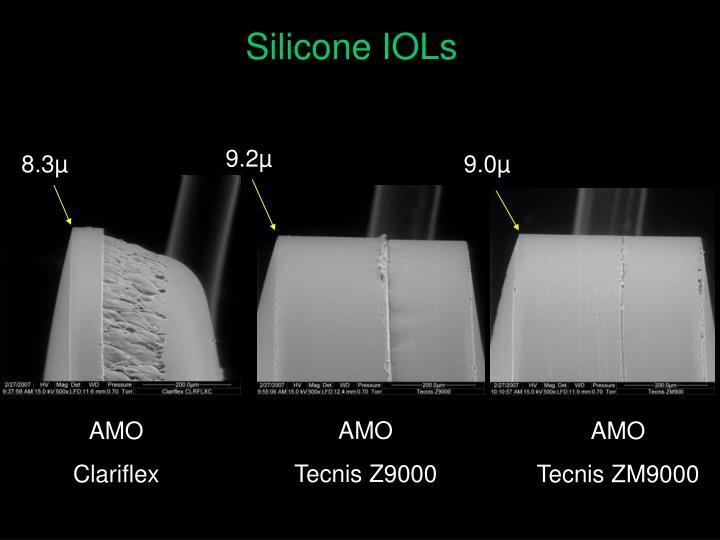 Silicone IOLs