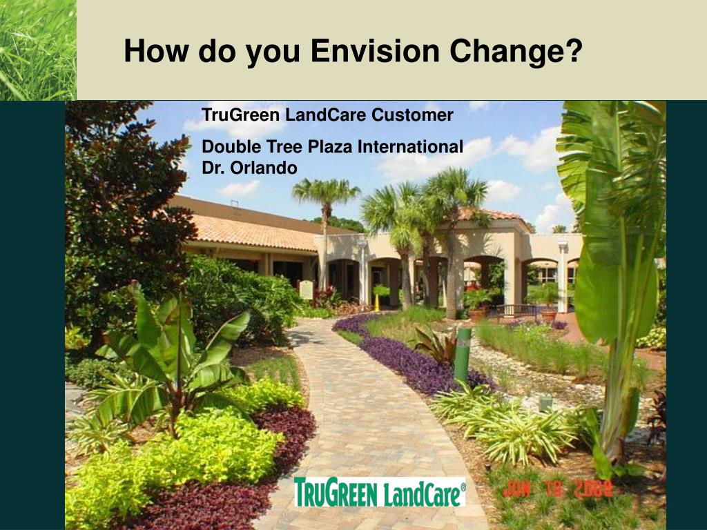How do you Envision Change?