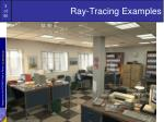 ray tracing examples