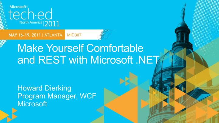 make yourself comfortable and rest with microsoft net n.