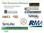 our extension partners
