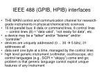 ieee 488 gpib hpib interfaces