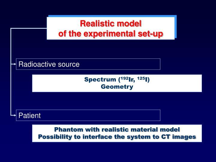 Realistic model