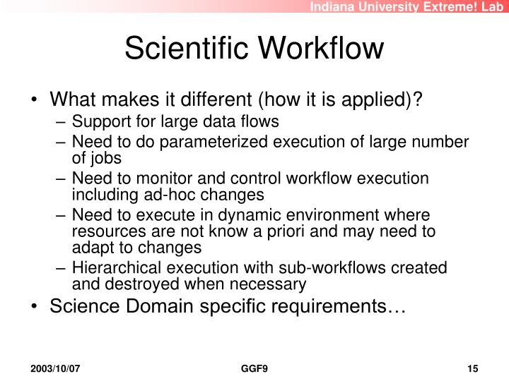 Scientific Workflow