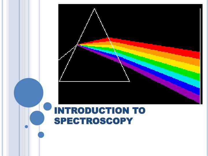 introduction to spectroscopy n.