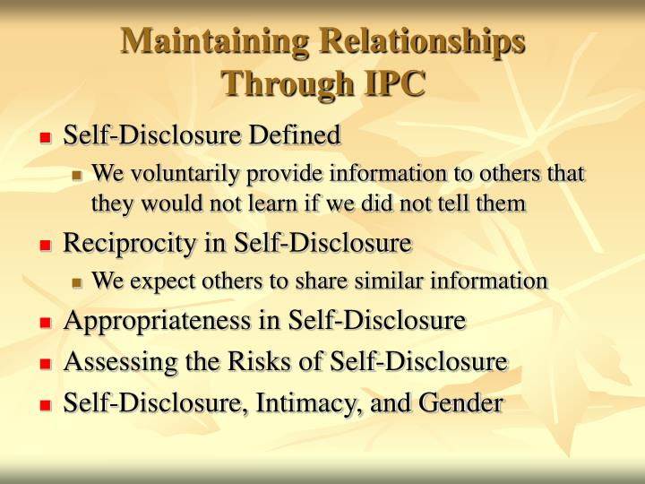 gender and self disclosure On jan 1, 1987, charles t hill (and others) published the chapter: gender and self-disclosure in the book: self-disclosure.