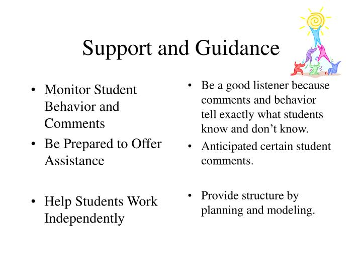 Monitor Student Behavior and Comments
