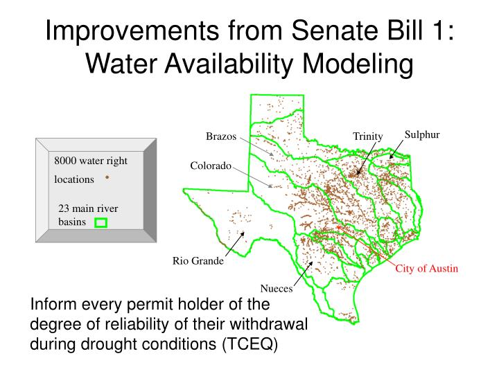 Improvements from Senate Bill 1: