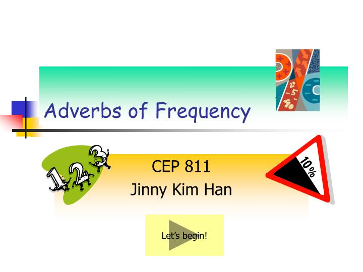 adverbs of frequency n.