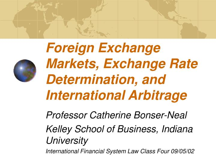 international foreign exchange market essay Use the foreign exchange market bearing an international equity portfolio needs to purchase and sell several pairs of reign currencies to pay for foreign.