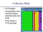 collective write