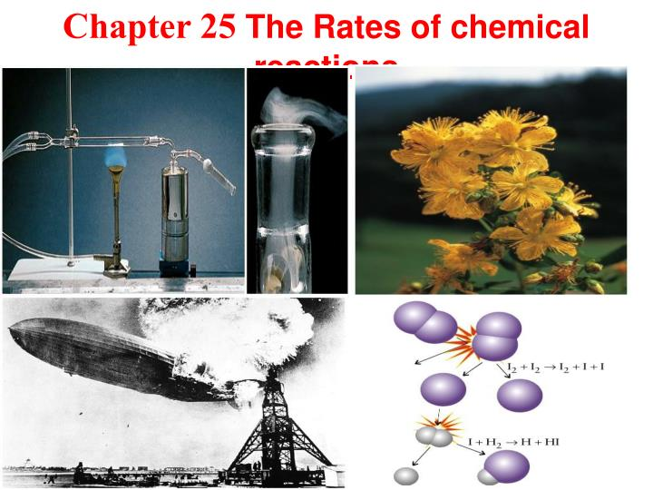 chapter 25 the rates of chemical reactions n.