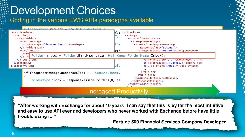 PPT - Development Insights of Microsoft Exchange Server and
