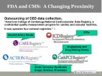 fda and cms a changing proximity11