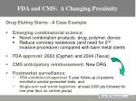 fda and cms a changing proximity12