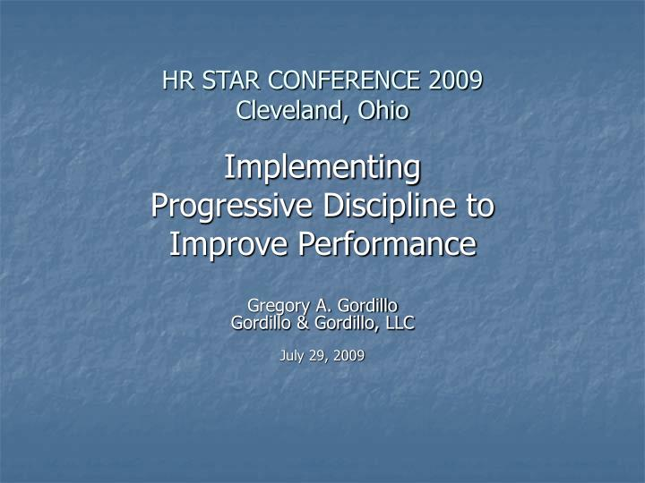 hr star conference 2009 cleveland ohio n.