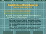 capability based global expansion tallman fladmoe lindquist 20021