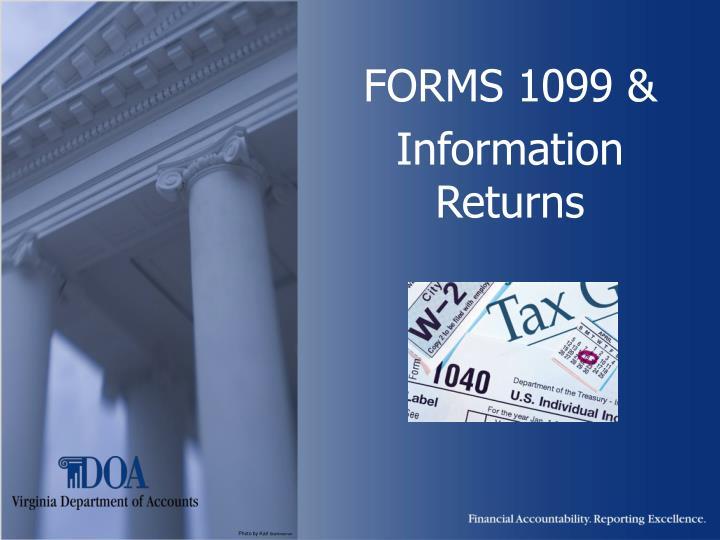 forms 1099 information returns n.