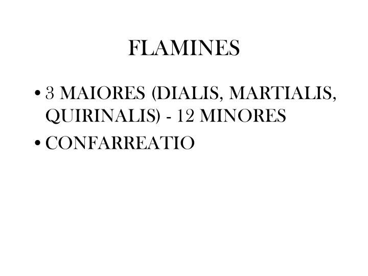 FLAMINES