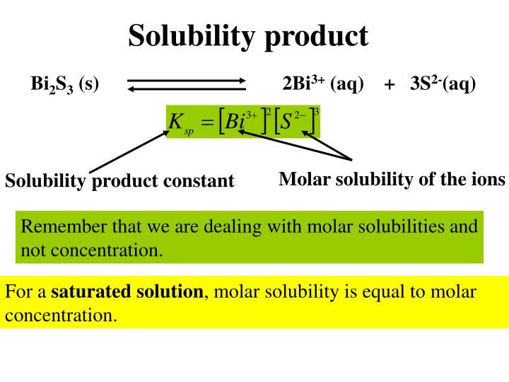 determination of the solubility product constant for calcium sulfate the effect of ionic strengths o If the product of concentration of ca ++ ions and so 4 − 2 ions exceeds the solubility products (k sp) of caso 4, calcium sulfate would be precipitated the solubility of calcium sulfate decreases with an increase in the temperature.