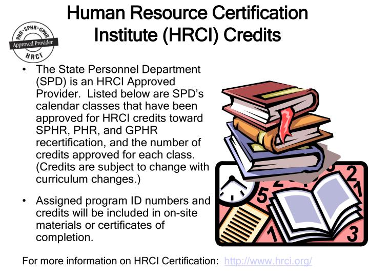 PPT - Human Resource Certification Institute (HRCI) Credits ...