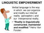 linguistic empowerment