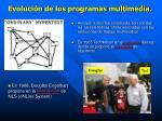 evoluci n de los programas multimedia1