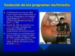 evoluci n de los programas multimedia2