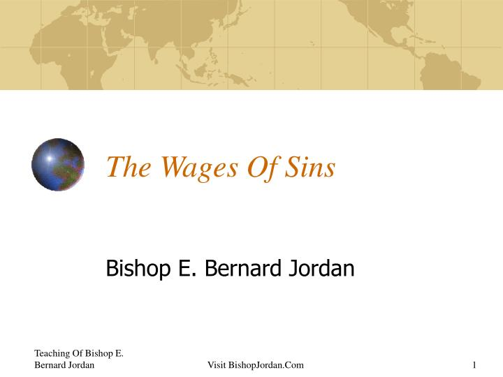 the wages of sins n.