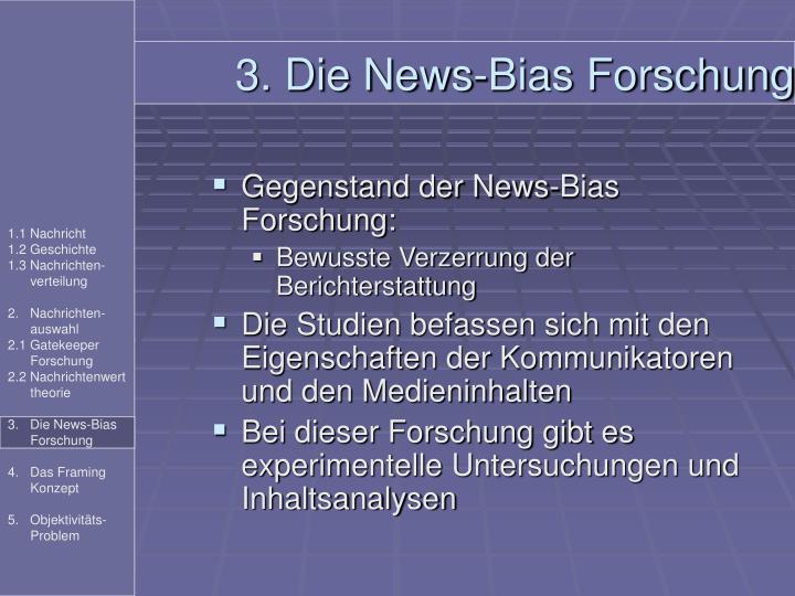 3. Die News-Bias Forschung