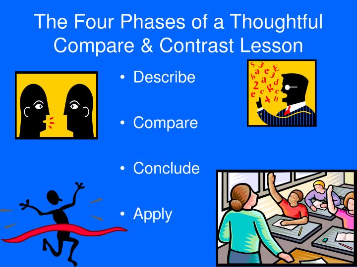 The Four Phases of a Thoughtful Compare & Contrast Lesson