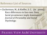 reference list of sources3