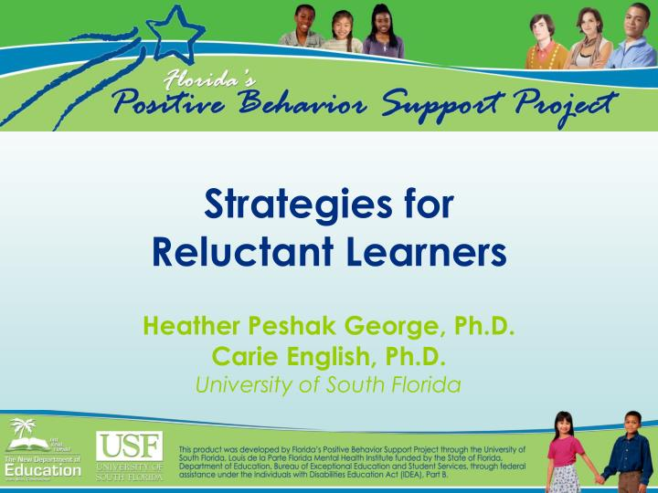 strategies for reluctant learners n.