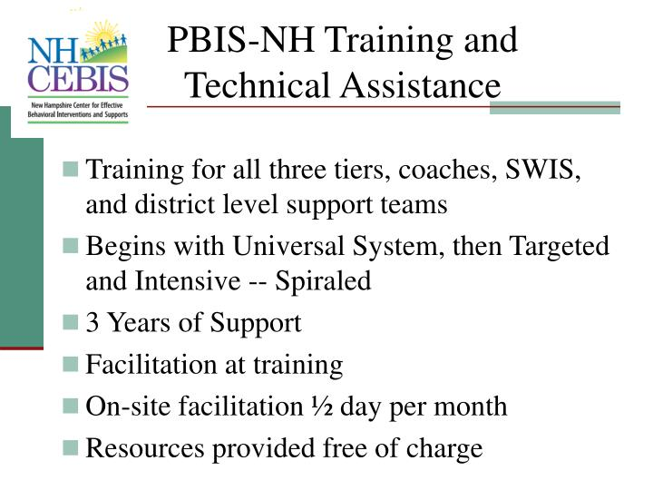 PBIS-NH Training and